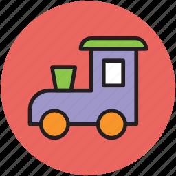 childhood, engine, locomotive, toy, train, train toy icon