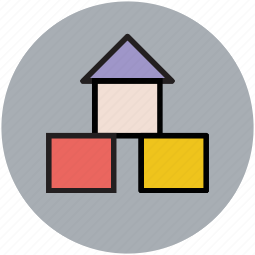 building, fun, home, play, playful icon