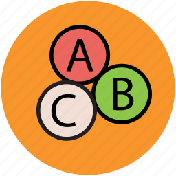 abc, alphabets, early learning, kindergarten, learning icon