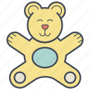 bear, child, teddy bear, toy icon