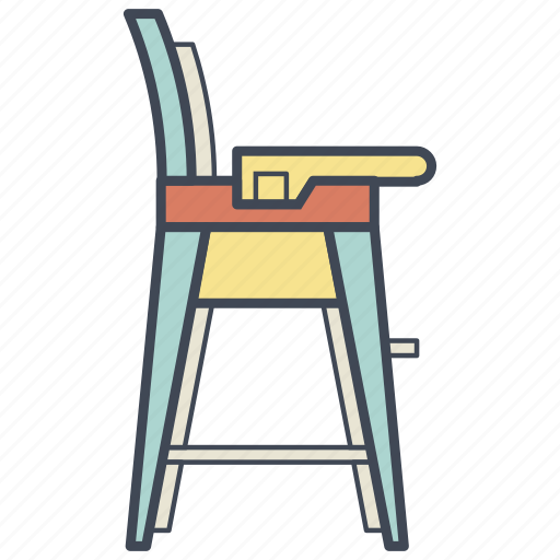 baby, chair, child, furniture, infant icon