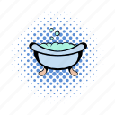 baby, bath, bathtub, hearth, puddle, tub, vat icon