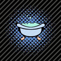 baby, bath, bathtub, hearth, puddle, tub, vat icon