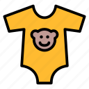 baby, clothes, kid, onesie, romper icon