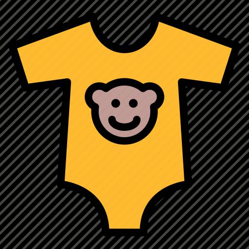 baby, clothes, kid, onesie, romper icon