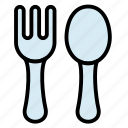 baby, cutlery, fork, kid, spoon