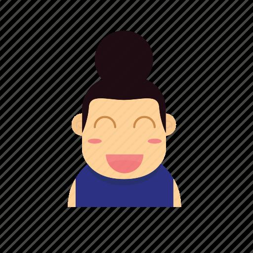 Baby Avatar 2: Avatar, Baby, Face, Female, Girl, Kid, Smiley Icon