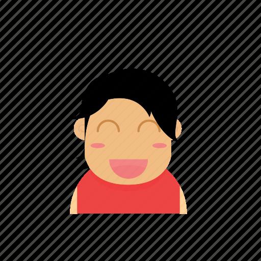avatar, baby, face, female, girl, kid, semiley icon