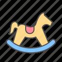 horse, toy