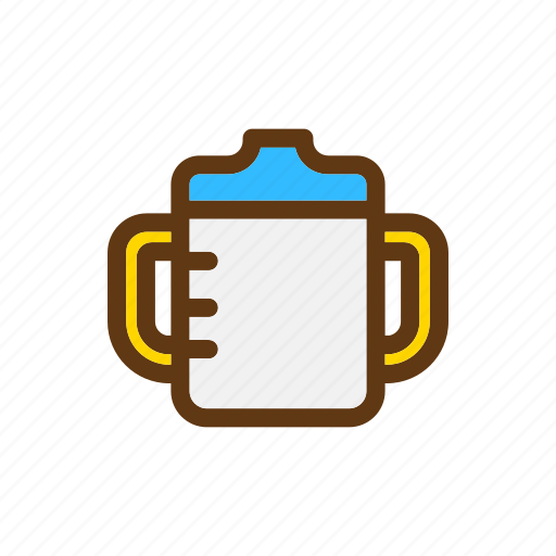 Baby, bottle, color, cup, milk icon - Download on Iconfinder