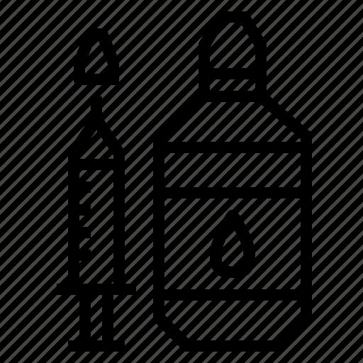 irrigation, nasal, nose, rinse, saline icon