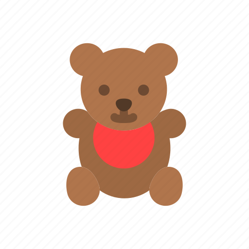 Animal, bear, grizzly, teddy, toy icon - Download on Iconfinder