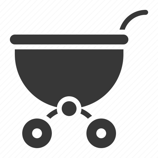babe, baby, baby cart, cart, child, childhood, infant icon