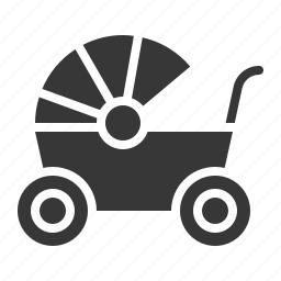 babe, baby, baby wagon, child, childhood, infant icon