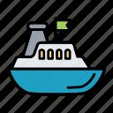 boat, controller, radio, ship, vessel
