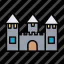 castle, kingdom, medieval, palace, toy