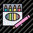 art, crayon, drawing, pencil