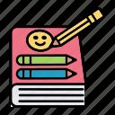 book, children, drawing, education, school