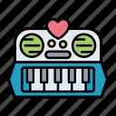 keyboard, music, piano, toy