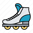 children, roller, shoes, skate, toy