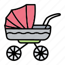 baby, carriage, pushchair, stroller, trolley