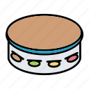 instrument, music, sound, tambourine