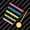 children, instrument, music, toy, xylophone