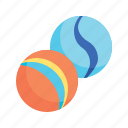 toys, marbles, sport, toy icon