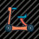 baby, bicycle, bike, child icon
