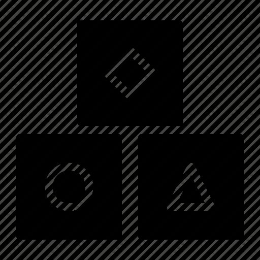Baby, block, blocks, game, kid, toddler, toy icon - Download on Iconfinder