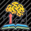book, brain, education, idea, knowledge, learning, thinking