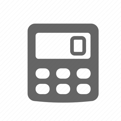 calculator, count, mathematics, number, school, science icon