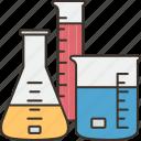substance, laboratory, beaker, chemistry, flask icon