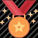award, golden, medal, winner, competition