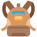 school, bag, backpack, education, rucksack, travel