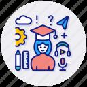 education, graduation, student, university, bachelor, graduate, master