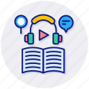elearning, audio, audiobook, book, course, education, online