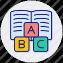 primary, school, education, teaching, abc, alphabet, blocks