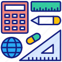 education, learning, pencil, tool, equipment, office, stationery