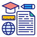 distance, learning, elearning, online, education, graduation, graduate