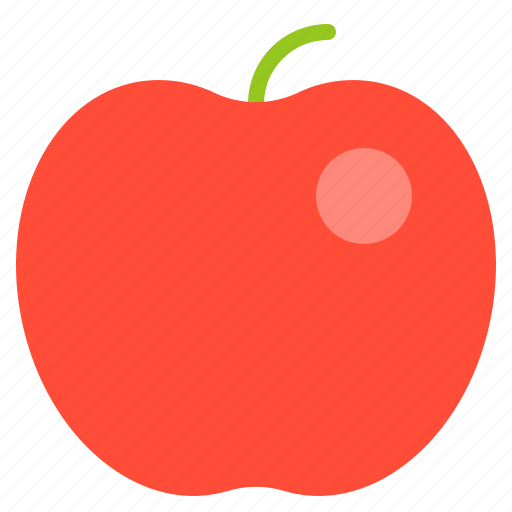 apple, food, fruit, school, vitamin icon