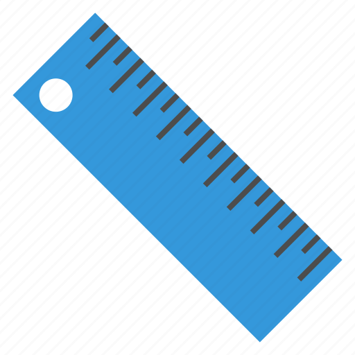 ruler, school, stationary, supplies, tool icon
