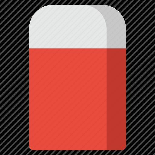 delete, eraser, rubber, school, school supplies, stationary icon