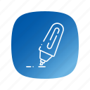 marker, school icon