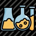 chemistry, laboratory, physics, science, test, tube icon