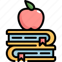 back to school, book, education, knowledge, learning, school, study icon