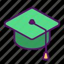 student, college, graduation, school, cap, university, education
