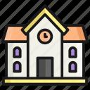 school, building, house, home, construction, estate, property
