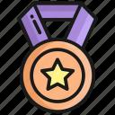 medal, badge, award, winner, achievement, star, prize