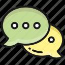 message, communication, conversion, bubble, chat, talk